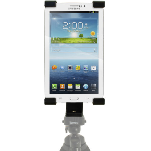 "10/"" Tablets Tablet Holder Mount Bracket 1//4 Thread Adapter for Tripods Fits 7/"""