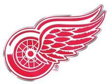 Detroit Red Wings Aluminum Metal Auto Emblem [NEW] NHL Car Decal Sticker CDG