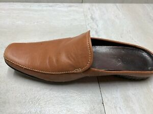 TIMBERLAND-Women-039-s-Brown-Leather-Slip-On-Mules-Clogs-Casual-Shoes-Women-039-s-7-5-M
