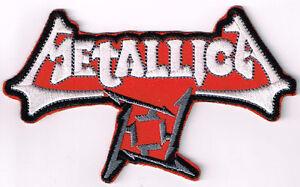METALLICA-LOGO-EMBROIDERED-IRON-ON-PATCH-heavy-metal-thrash-metal-speed-metal