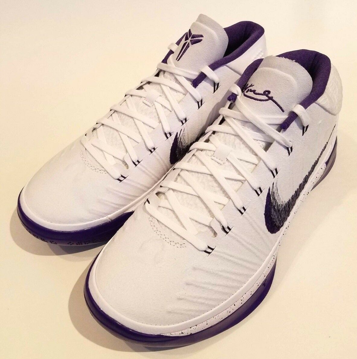 Nike Kobe AD Basketball shoes LA LAKERS NEW MENS White Court Purple