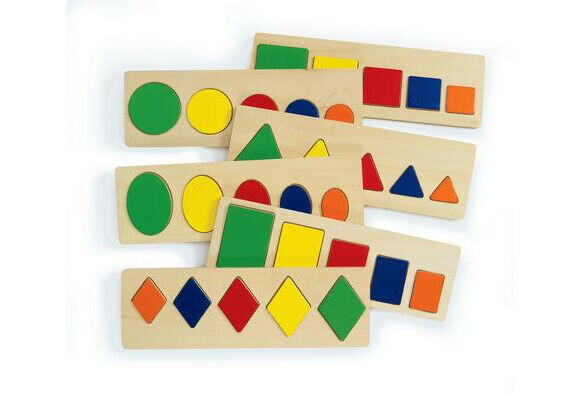 Size and Shape Puzzles - Set of 6