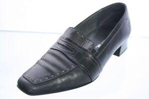 Theresia-M-Pumps-schwarz-Leder-Schuhweite-H-Gr-39-UK-6