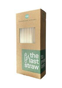 Compostable Disposable Sugarcane Straw