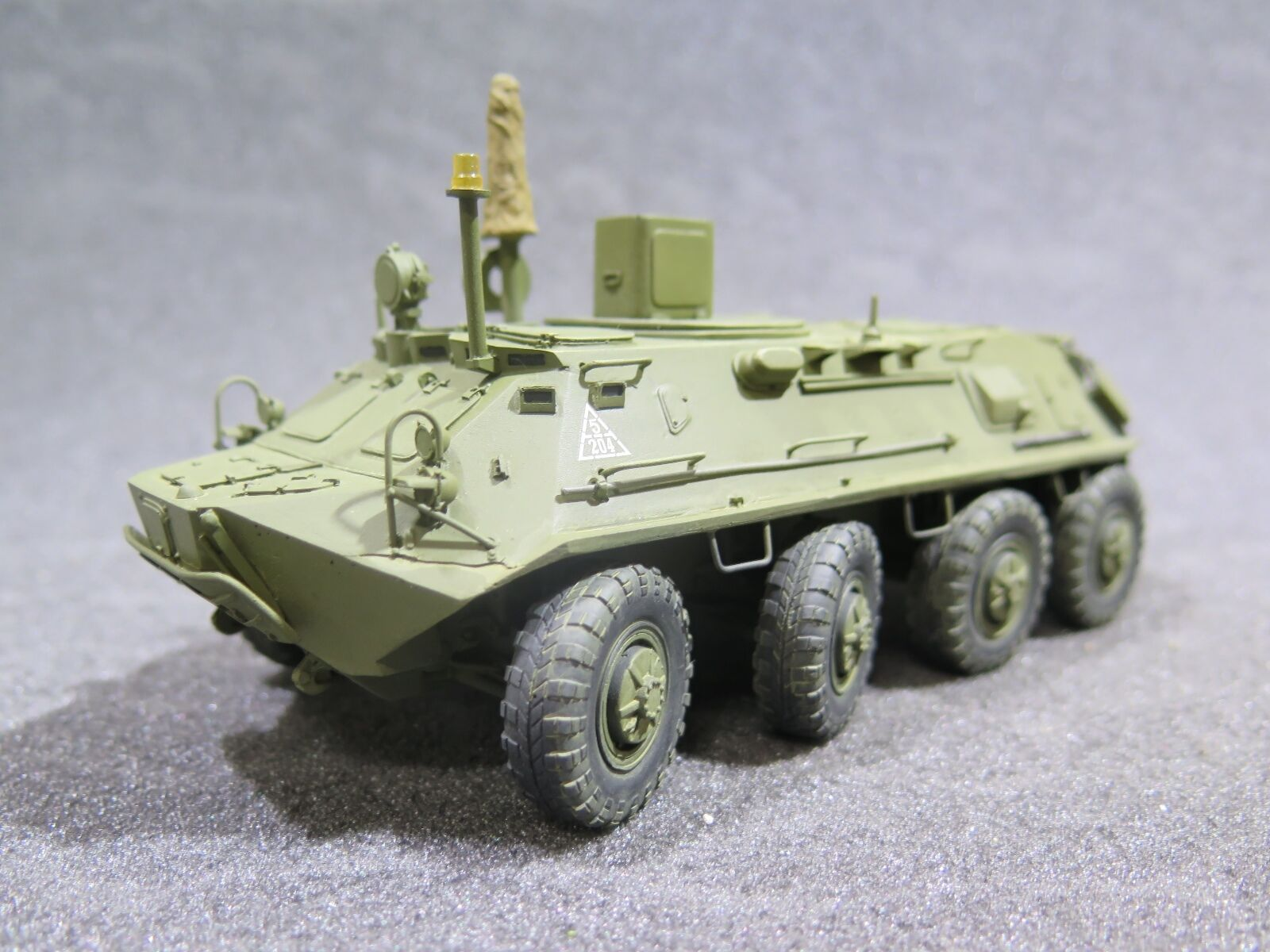 MI1006 - 1 35 PRO BUILT Resin Panzershop Soviet BTR-60PU-12 – Soviet Air Defence