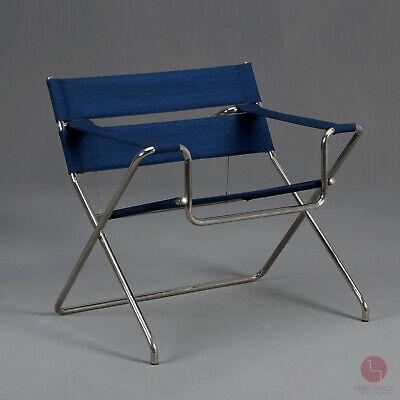 Tecta D4 Faltsessel Bauhaus Klassiker Lounge Chair Klappsessel Sessel Blau Ebay