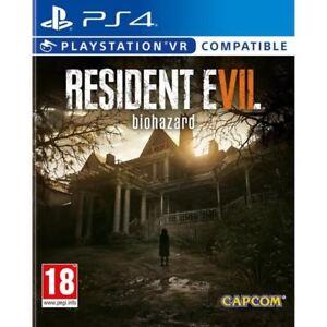 Resident-Evil-VII-7-Biohasard-VR-Compatible-PS4-IMPORT-neuf-sous-blister