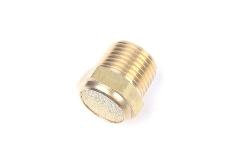 """5pcs Sintered Bronze Flat Pneumatic Muffler Filter 1//2/"""" Male NPT Silencer"""