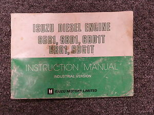 isuzu engine manual free download