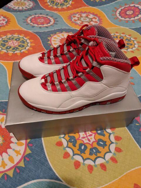 2005 Nike Air Jordan X 10 Retro Red