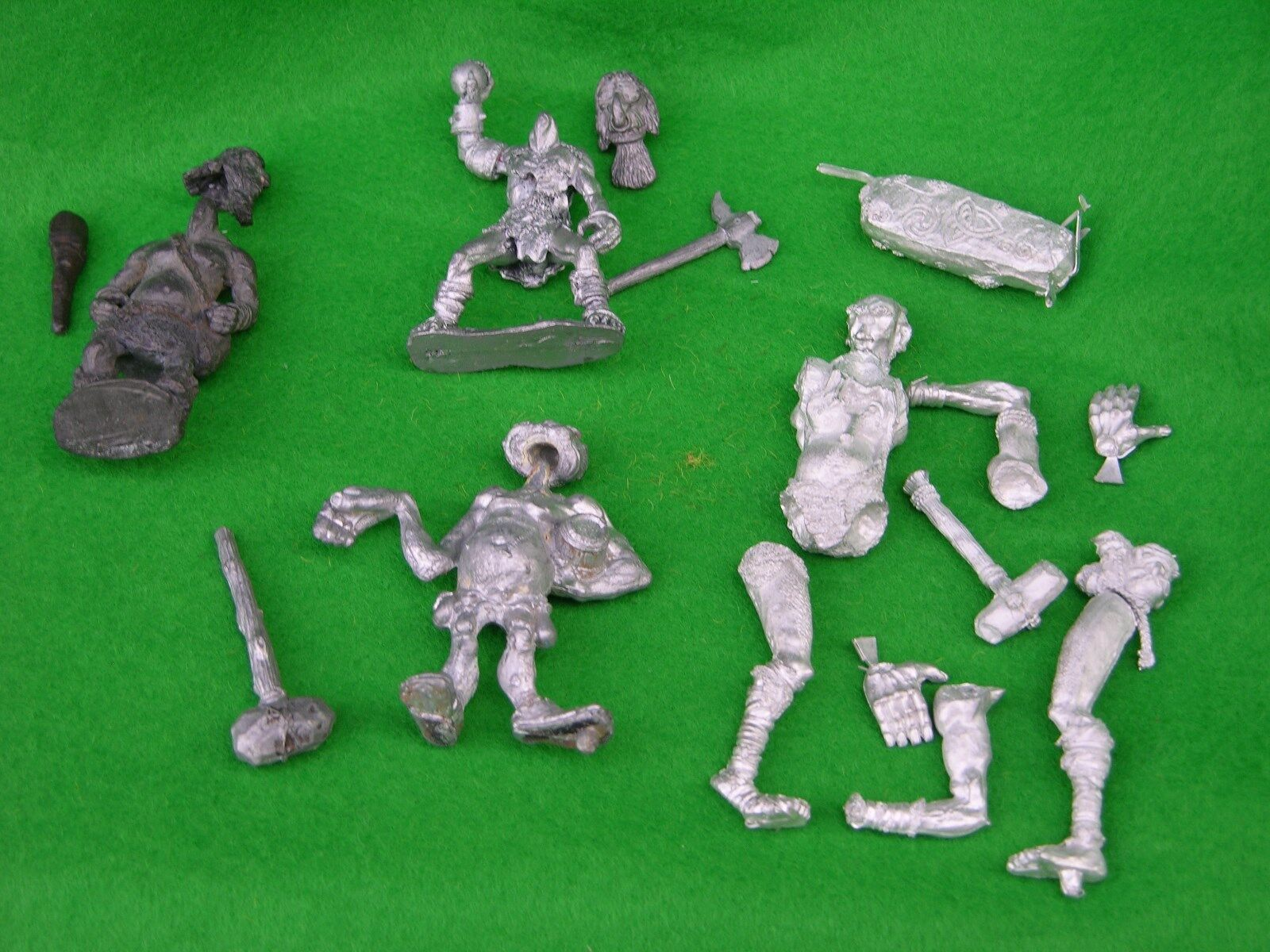 WARHAMMER & AD&D GIANTS UNPAINTED , MULTI-LISTING