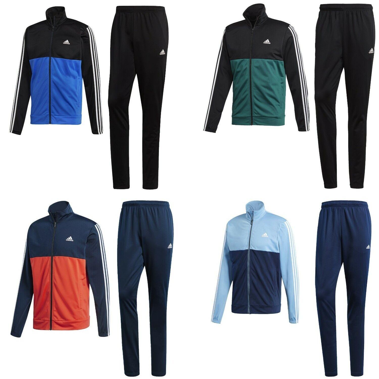 Adidas Jogginganzug 3 Streifen Trainingsanzug Sportanzug Herren Männer