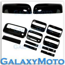 09-14 Ford F150 Black HALF Mirror+4 Door Handle+keypad+no PSG KH+Tailgate Cover