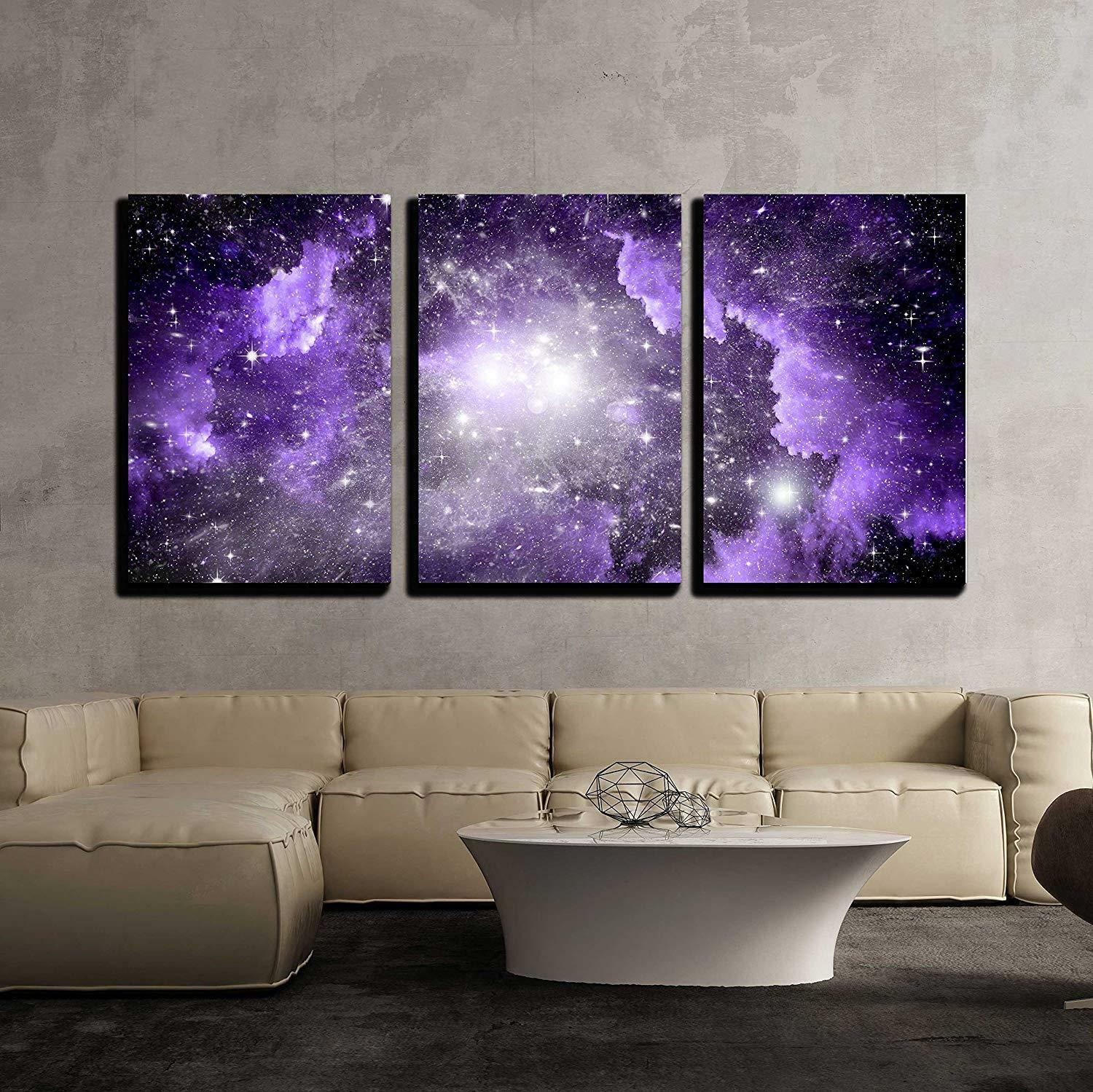 Wall26 - Stars of a Planet and Galaxy in a Free Space - CVS - 24 x36 x3 Panels