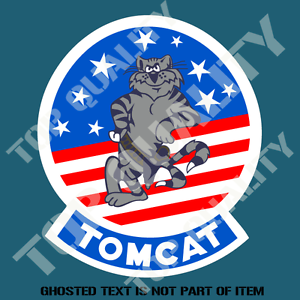 Image is loading F14-TOMCAT-US-MILITARY-DECAL-STICKER-VINTAGE-AMERICAN-