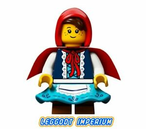 LEGO-Minifigure-Little-Red-Riding-Hood-idea045-minifig-FREE-POST