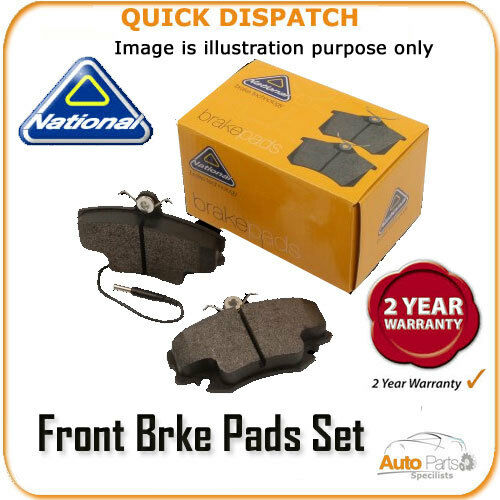 FRONT BRAKE PADS  FOR FORD FIESTA V NP2004
