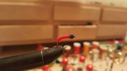 Blood Worm Fly #8 Hook size