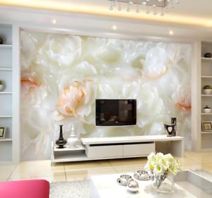 3D Different Lotus 854 Wall Paper Murals Wall Print Wall Wallpaper Mural AU Kyra