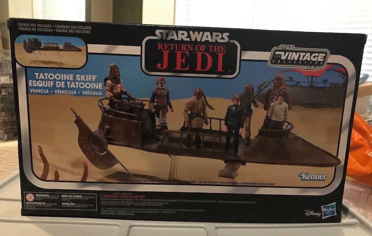 Hasbro estrella guerras Vintage Collection Tatooine Skiff Return  of The Jedi NIB 2019  miglior servizio