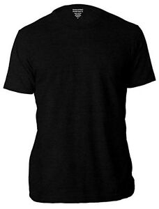 Banana-Republic-Men-039-s-Crew-Neck-Short-Sleeve-Tee-Premium-Wash-T-Shirts-Black-XL