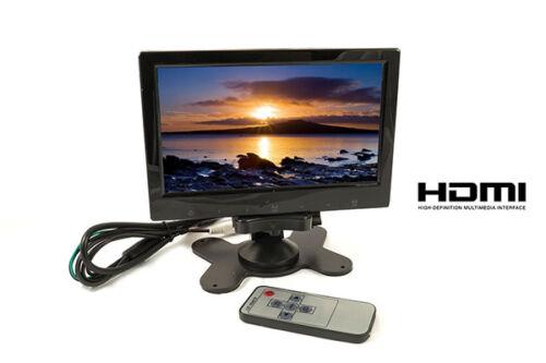 MONITOR LCD 7 POLLICI HDMI HD AV CON TELECOMANDO