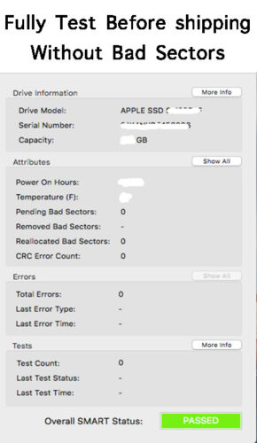 """512GB SSD Solid State Drive for MacBook Pro 15/"""" A1398 Late 2013 2014 2015"""