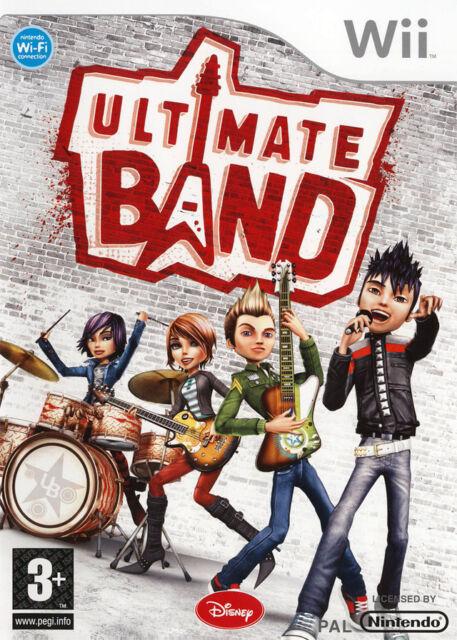 Jeu Nintendo WII Ultimate Band  Neuf  Sous Blister