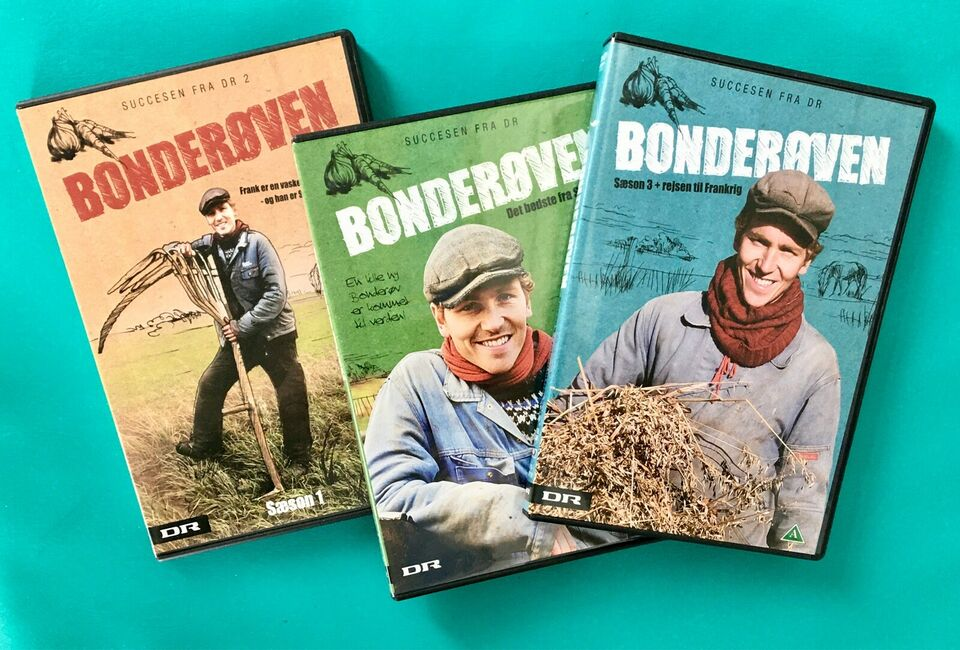 DR-TV: Bonderøven 1+2+3 (3DVD), DVD, TV-serier