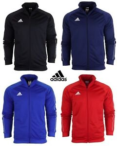 Adidas-Core-Full-Zip-Tracksuit-Track-Top-Jacket-Jumper-Sweatshirt-Sweater-Gym