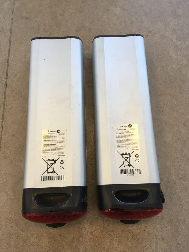 Elcykel-udstyr, Gazelle 36V batteri