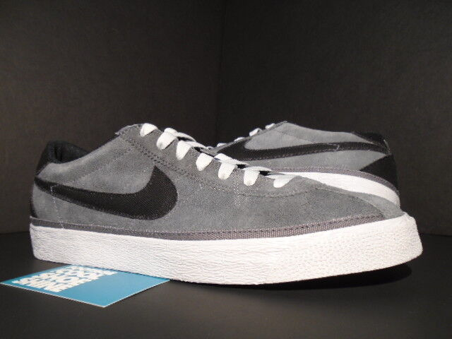 2011 Nike Dunk Blazer ZOOM BRUIN SB DARK GREY BLACK WHITE 366665-007 NEW 10