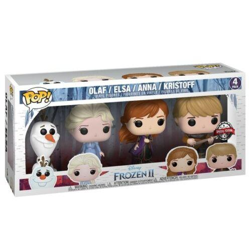 Funko POP Vinyl Disney Frozen 2 Special Edition 4pk Olaf Elsa Anna Kristoff NEW