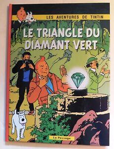 PASTICHE - Tintin. LE TRIANGLE DU DIAMANT VERT. Cartonné 36 pages couleurs