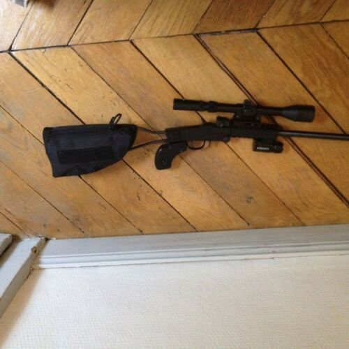sac de crosse pour carabine Chiappa Little Badger en Cordura noir.