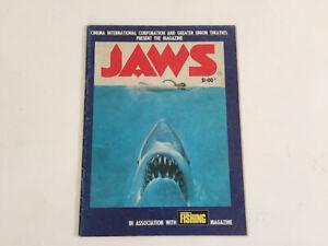 Jaws Official 1975 Australian movie magazine Speilberg RARE plus Bonus!