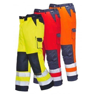 Portwest Workwear Mens Lyon Hi-Vis Jacket