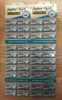 500 Blades - Super Max Double Edge Platinum Razor Blades Free Priority Shipping