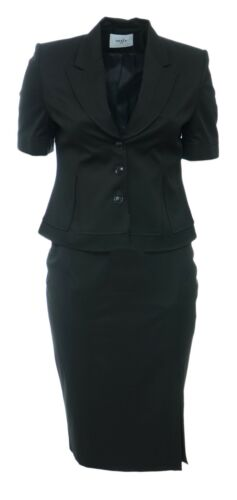 Blazer Black gonna dettagli con New con abbinati Womens 24 14 abbinata xBCnItRqY