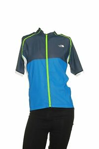 Men-039-s-The-North-Face-LWH-Cycling-Jersey-New-NWT-M-Stash-Pocket-Reflective-Logo