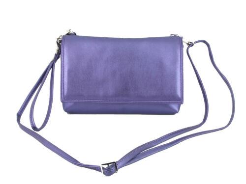 LONI Delightful Clutch//Shoulder//Crossbody//Wristlet Bag Size Small