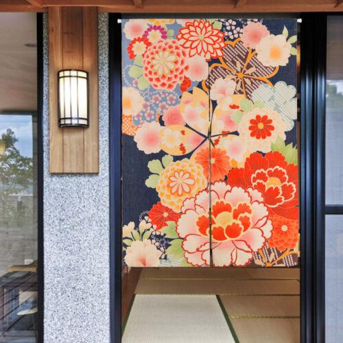 Japanese Nail Noren Door Curtain Doorway Window Hanging Tapestry Room Divider