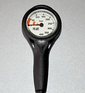 """Finimeter 0-400 Bar - Slim Line SPG in Messingkapsel """"UNSER BESTES"""""""