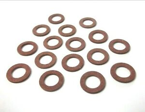 Copper washers Seal 26mm x 32mm x 2mm *Top Quality! Bango Pack of 2 Flat
