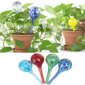 4 Pcs Glass Globes Plant Watering Automatic Watering Ball Bulbs for Garden Vogue