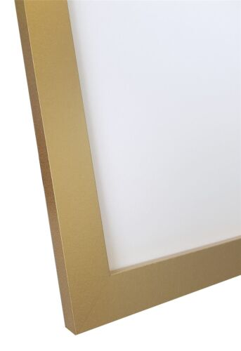 Gold Picture Photo Frames in Quality MDF Wood H7 Multiple Sizes A3 A4 20x16