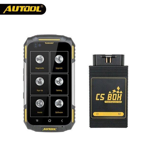 AUTOOL CSBOX Pro Wifi Professional Car Multi System Diagnostic Tool Scanner Quad core Android R4999