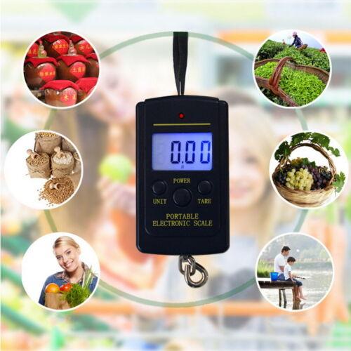 Portable Balance électronique numérique de pêche postal Hanging Hook Scale