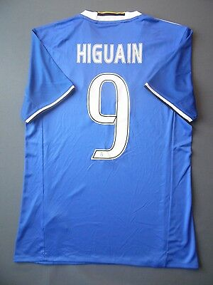new style 848f0 8b072 Details about 5+/5 Higuain Juventus shirt S 2016 2017 away jersey adidas  soccer AI6226 ig93