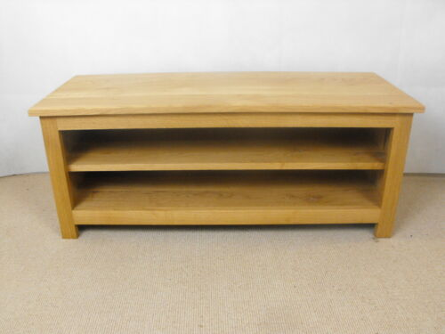 Low height 1000mm Pine TV Unit Stand Cabinet Games unit ideal in living room